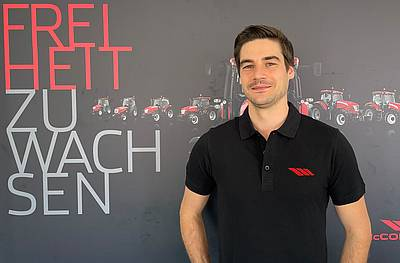 Argo Tractors: Neuer Marketing-Manager für Deutschland und Österreich