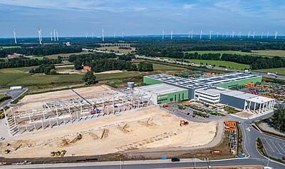Amazone: Aufstockung der Produktionskapazitäten