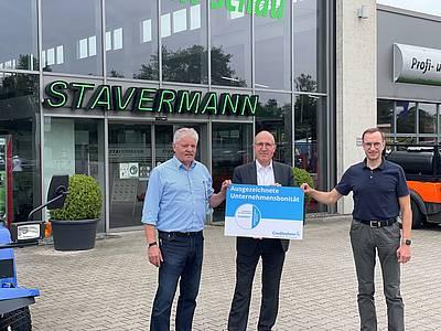 Stavermann GmbH: Mit Bonitätszertifikat CrefoZERT ausgezeichnet