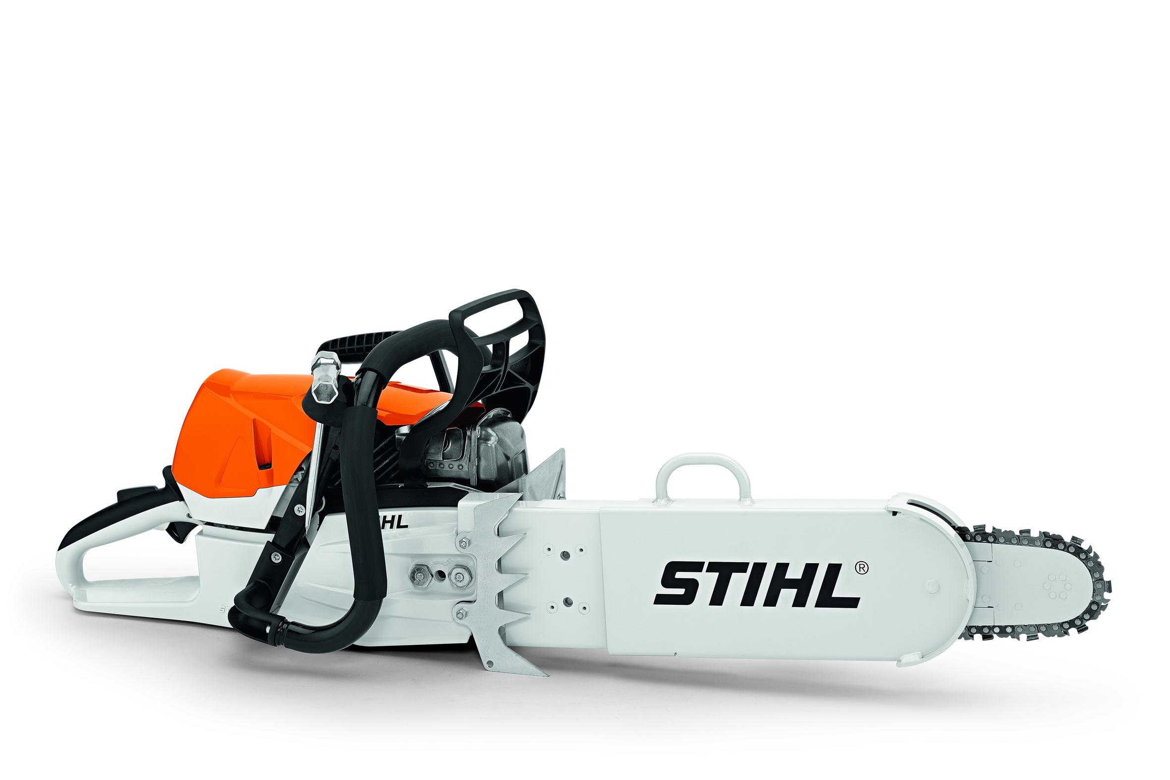 stihl: säge ms 462 hilft auch im rettungseinsatz